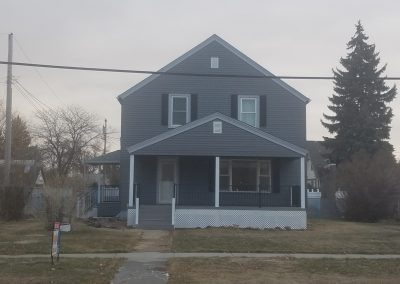 Façade of a Dark Gray House   Home Improvement Projects