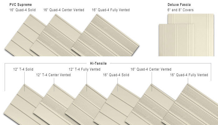 Style Options | Aluminum Soffit and Fascia