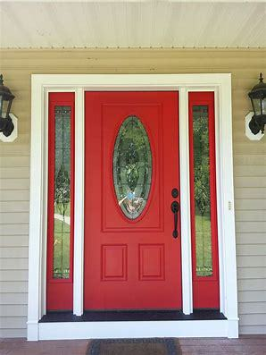 Thermatru Door red